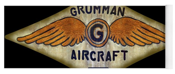 Grumman Wings Diamond Yoga Mat