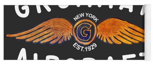 Grumman Wings Gold Yoga Mat