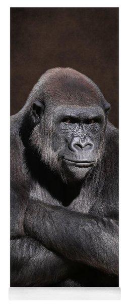 Grumpy Gorilla Yoga Mat