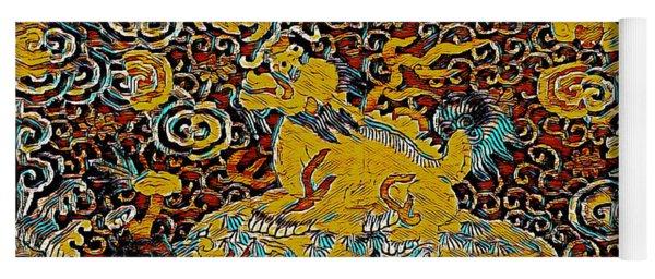 Guardian Of The Temple Yoga Mat