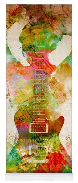 Guitar Siren Yoga Mat