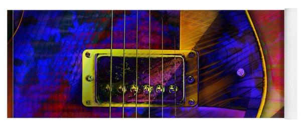 Guitars Yoga Mat