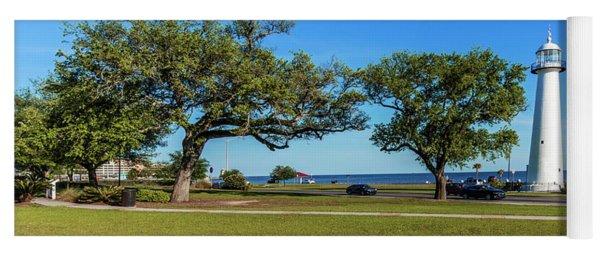 Gulf Coast Lighthouse Seascape Biloxi Ms 3663a Yoga Mat