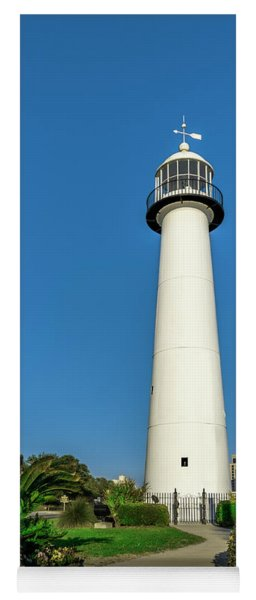 Gulf Coast Lighthouse Seascape Biloxi Ms 3773a Yoga Mat
