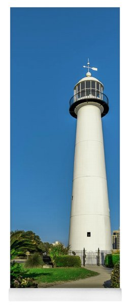 Gulf Coast Lighthouse Seascape Biloxi Ms 3773a Yoga Mat