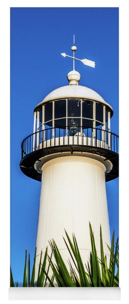 Gulf Coast Lighthouse Seascape Biloxi Ms 3819a Yoga Mat