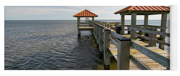 Gulf Coast Pier Yoga Mat