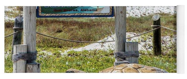 Gulf Shores Al Beach And Pier Turtle 1603a Yoga Mat