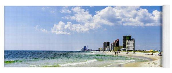 Gulf Shores Al Beach Seascape 1746a Yoga Mat