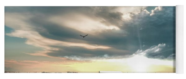 Gulf Shores Al Pier Seascape Sunrise 152c Yoga Mat
