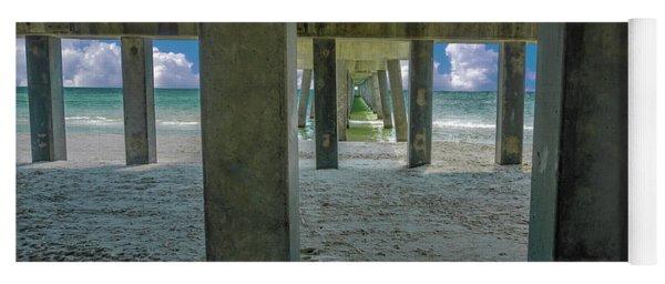 Gulf Shores Park And Pier Al 1649 Yoga Mat