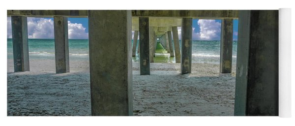 Gulf Shores Park And Pier Al 1649 Yoga Mat