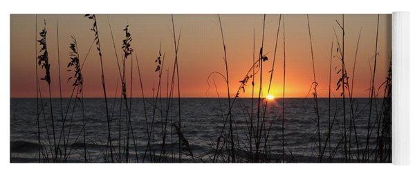 Gulf Sunset In Florida Yoga Mat