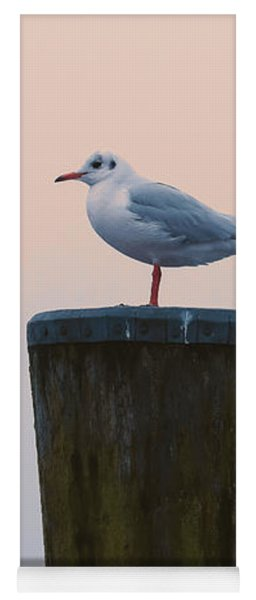 Gull And Fog Yoga Mat