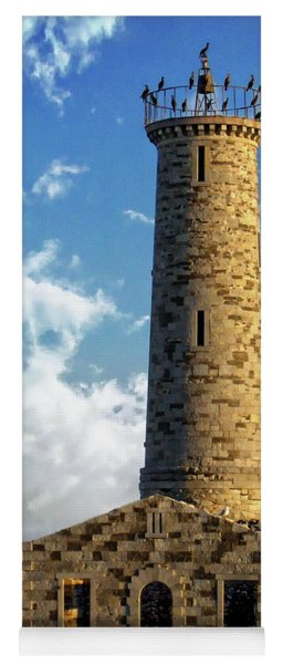 Gull Island Lighthouse Yoga Mat