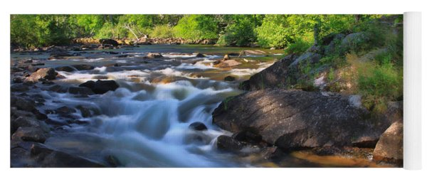 Gull River Falls - Gunflint Trail Minnesota Yoga Mat
