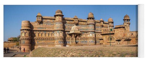 Gwalior Fort 2 Yoga Mat
