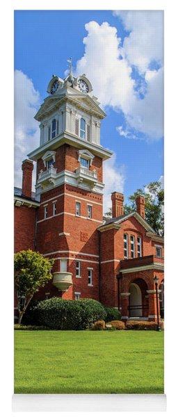 Gwinnett County Historic Courthouse Yoga Mat