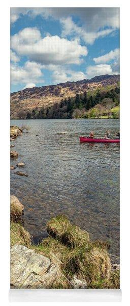 Gwynant Lake Canoeing Yoga Mat