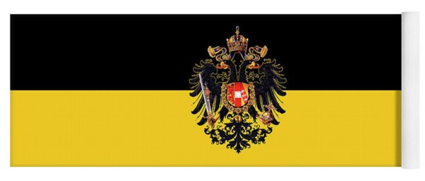 Habsburg Flag With Imperial Coat Of Arms 3 Yoga Mat