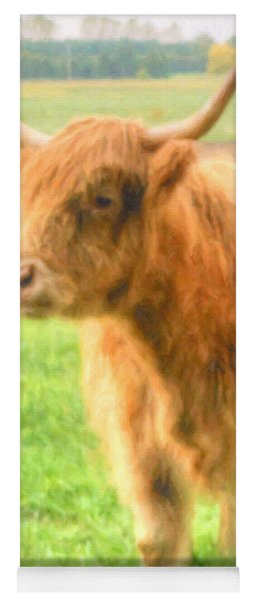 Hairy Coos Yoga Mat