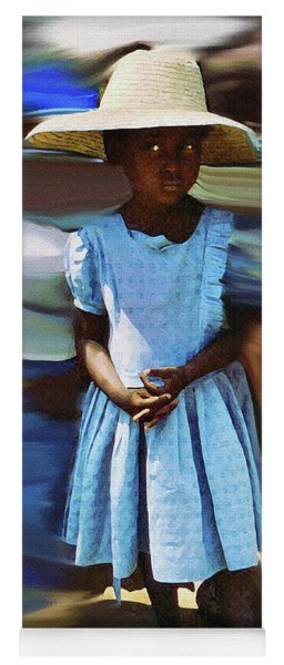 Haitian Clinic Child Klinik Ayisyen An Pitit Yoga Mat