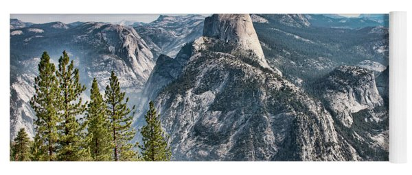 Half Dome From Glacier Point Yoga Mat