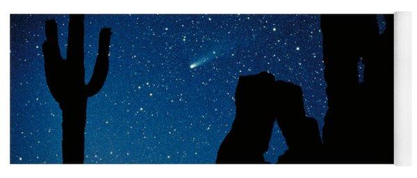 Halley's Comet Yoga Mat