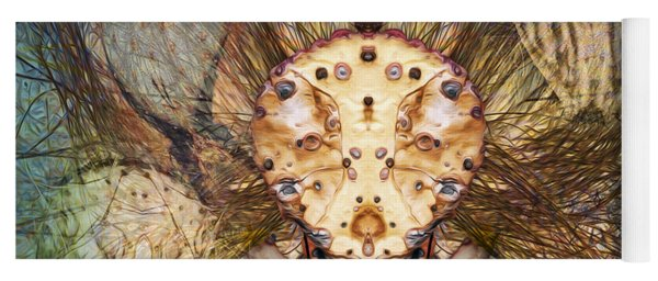 Hallucina-jim Yoga Mat