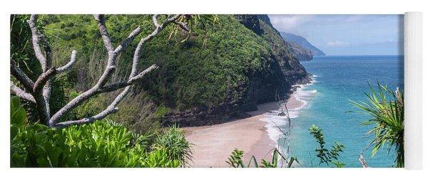 Hanakapiai Beach Yoga Mat