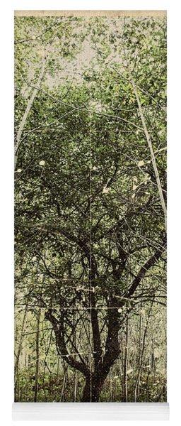 Hand Of God Apple Tree Poster Yoga Mat