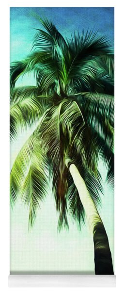 Hanging In The Breeze Yoga Mat