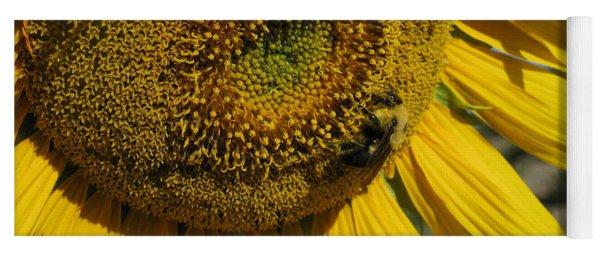 Happy Bumble Bee Yoga Mat