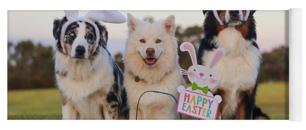 Happy Easter Yoga Mat