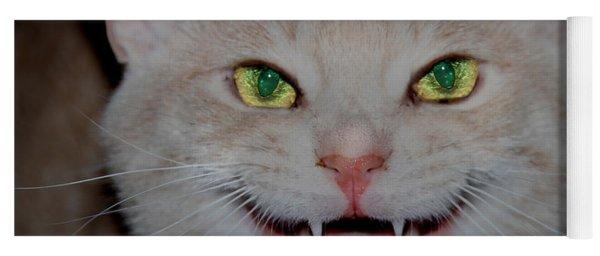 Happy For Spring Cat Yoga Mat