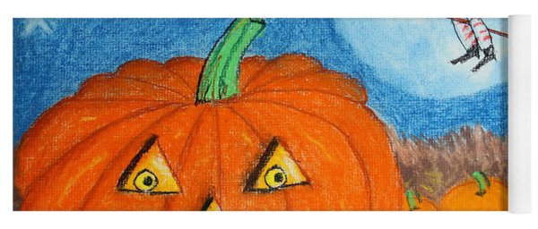 Happy Halloween Boo You Yoga Mat