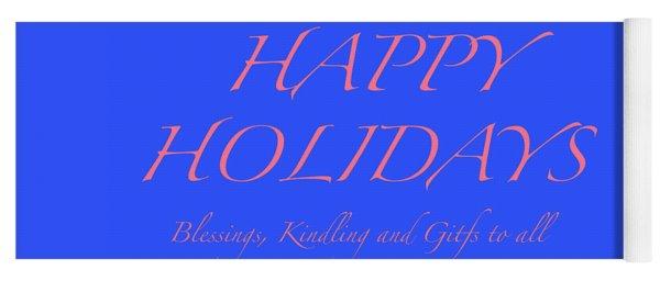 Happy Holidays - Day 7 Yoga Mat