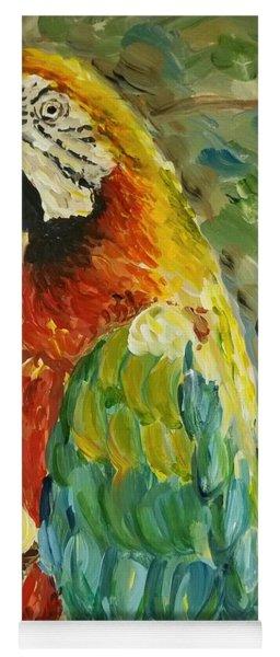 Happy Parrot Yoga Mat