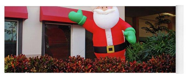 Happy Santa Yoga Mat