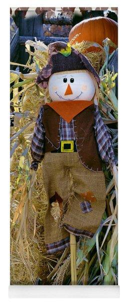 Happy Scarecrow Yoga Mat