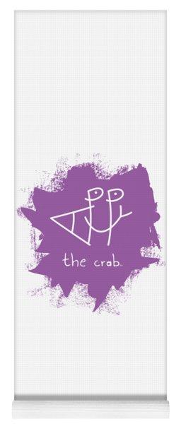 Happy The Crab - Purple Yoga Mat