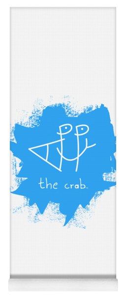 Happy The Crab - Blue Yoga Mat