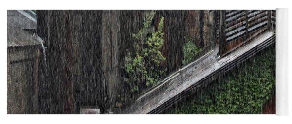 Hard Rain Yoga Mat