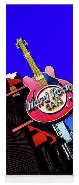 Hard Rockin On Beale Yoga Mat