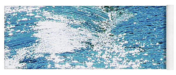 Hard Water Abstract Yoga Mat