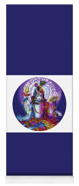 Hari Hara Krishna Vishnu Yoga Mat