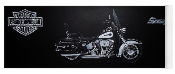 Harley Davidson Snap-on Yoga Mat