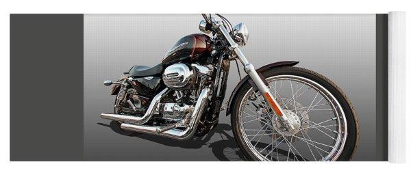 Harley Sportster Xl1200 Custom Yoga Mat