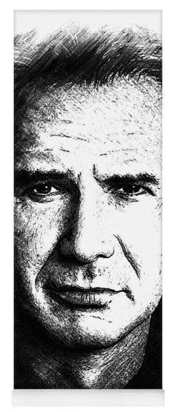 Harrison Ford Sketch Edit Yoga Mat
