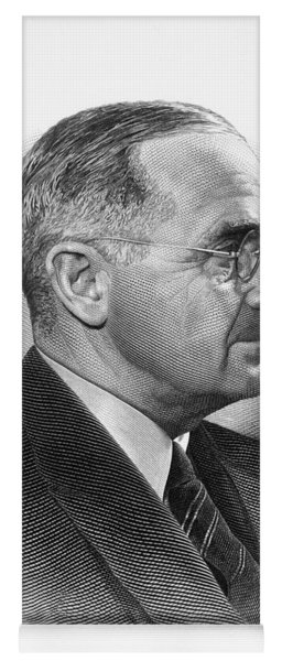 Harry S. Truman Yoga Mat